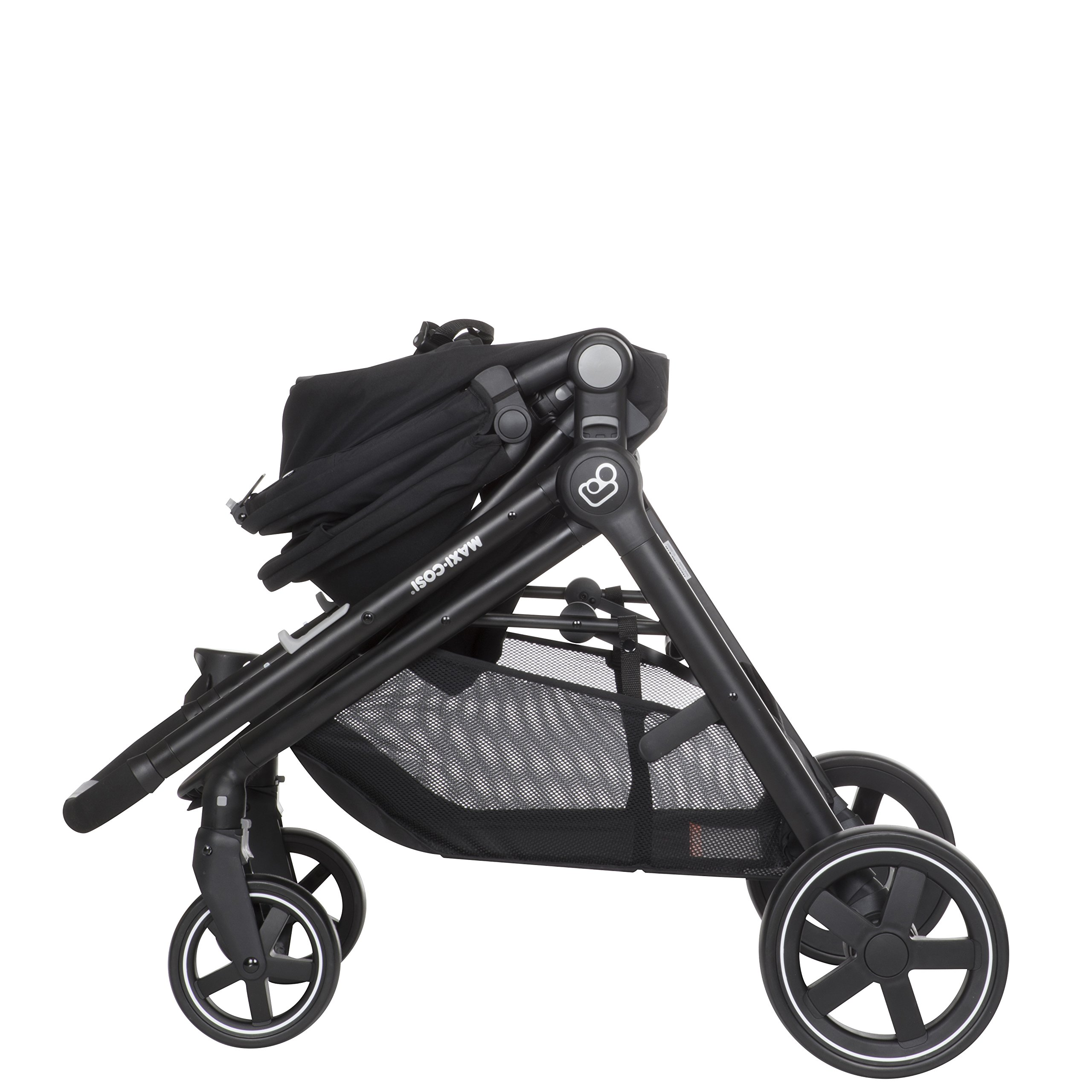 Maxi-Cosi Zelia 5-in-1 Modular Travel System Stroller and Mico 30 Infant Car Seat Set (Night Black) by Maxi-Cosi (Image #13)