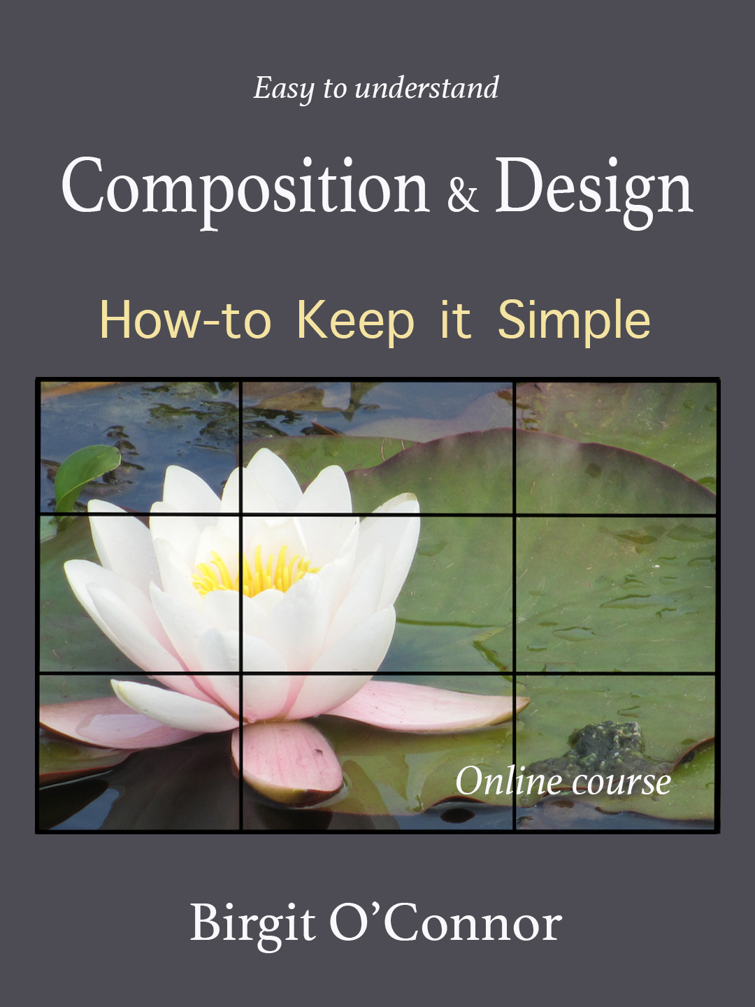 Easy to Understand Composition and Design and How-to Keep it Simple (Online Course) [Online Code] by Birgit O'Connor