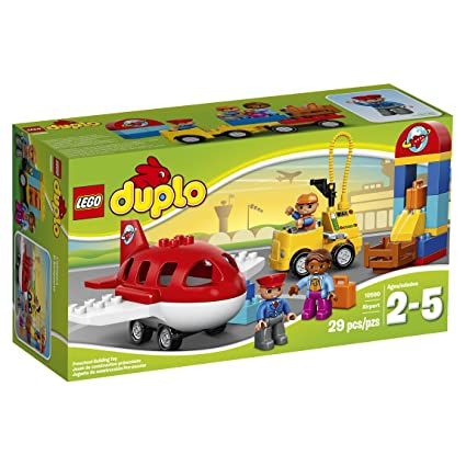 Amazon Lego Duplo Town Airport 10590 Buildable Toy For 3 Year