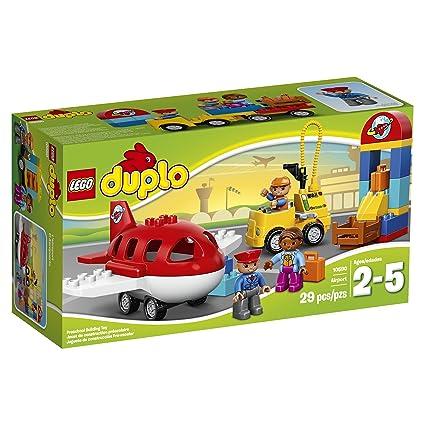 Amazoncom Lego Duplo Town Airport 10590 Toys Games