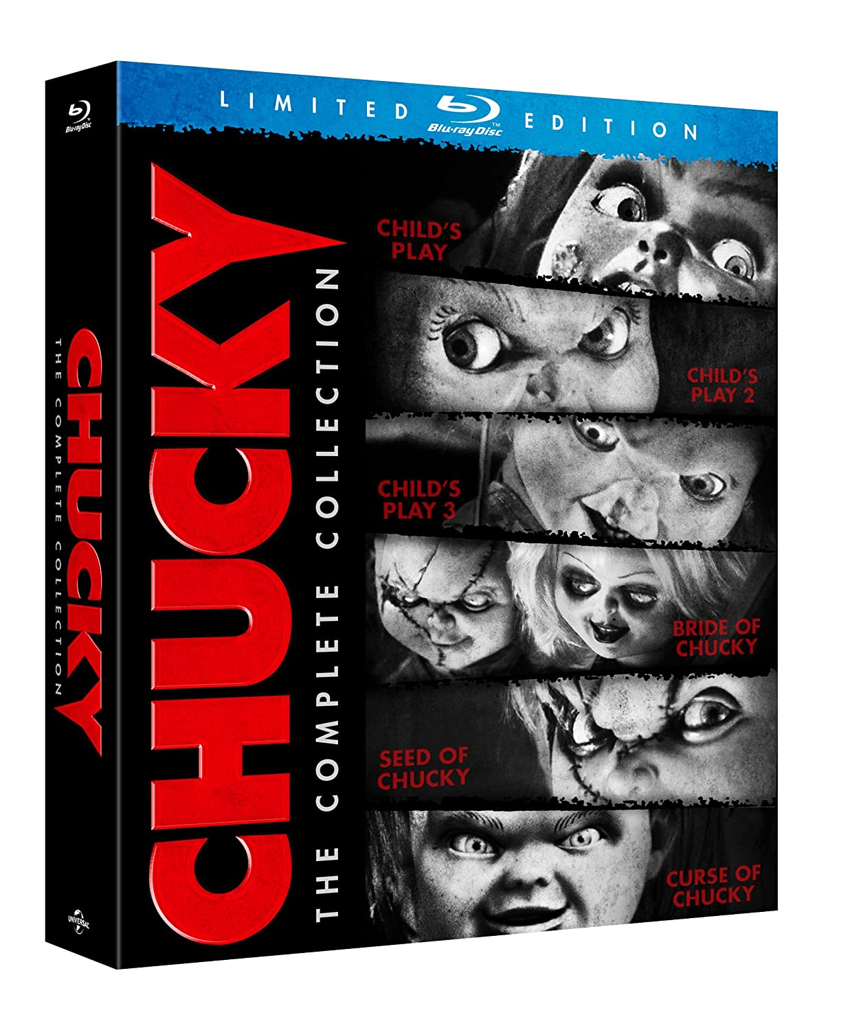 Amazon.com: Chucky: The Complete Collection [Blu-ray]: Catherine ...