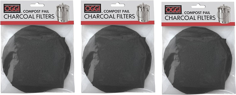 Amazon.com: Oggi repuesto filtros de carbón para Compost ...