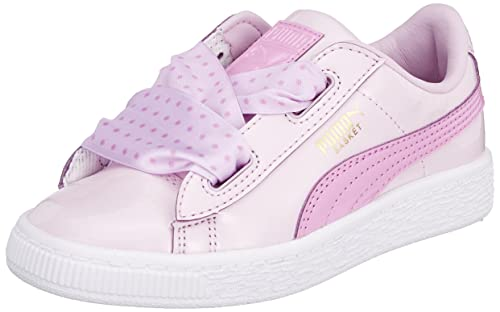 Puma Basket Heart Stars PS, Sneakers Basses Fille