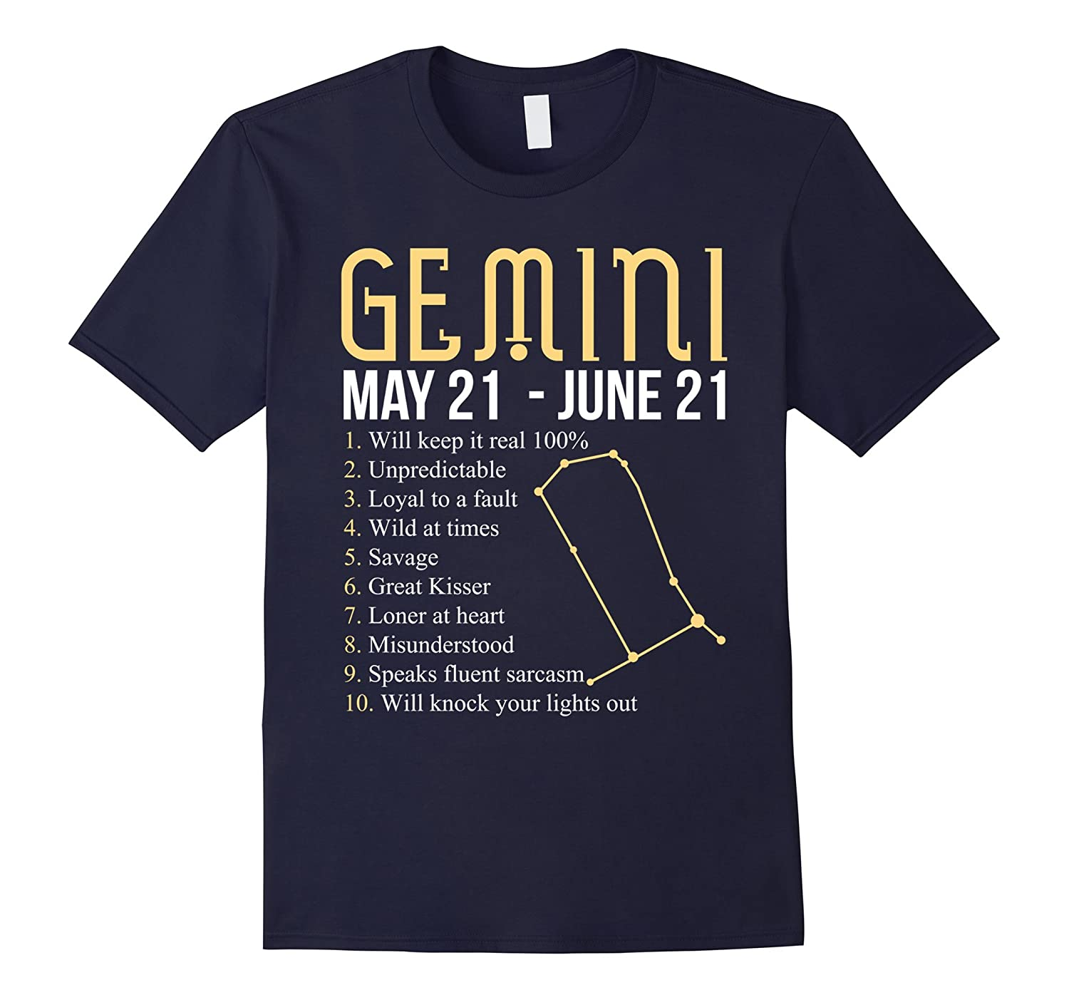 10 Things About Gemini T-shirt Gemini Definition-CD