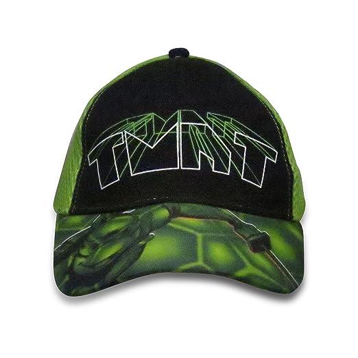 47536ada9 Nickelodeon TMNT Boys Baseball Cap with Snapback Closure - 100 ...