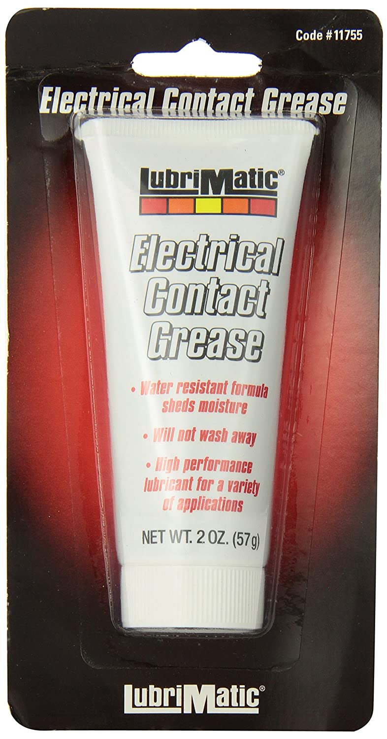 LubriMatic 11755 Dielectric/Electrical Contact Grease, 2 oz. Tube LubriMatic Green