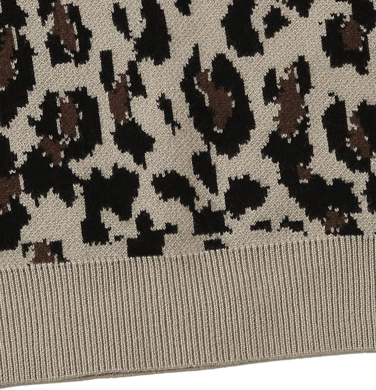 Floerns Womens Leopard Sleeveless Spaghettie Strap Cut Out Crop Top