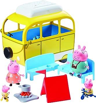 Peppa Pig Jouet Caravane Jaune única Citronier Amazon Fr Jeux Et Jouets
