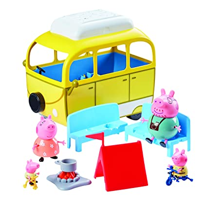 AccesoriosAmarillo Pig Caravana Con 84211 Peppa 7b6yYfg