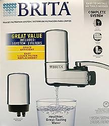 Brita - COMINHKR024903: Brita Chrome Faucet Filtration System