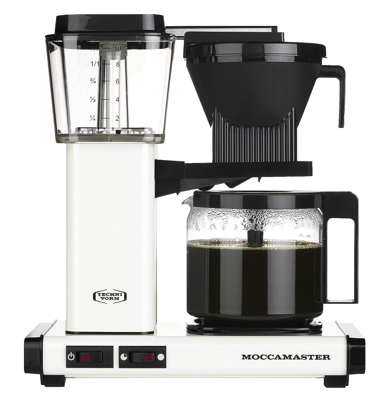 Moccamaster - KBG 741 AO - Cafetera con filtro, 1,25 L blanco ...
