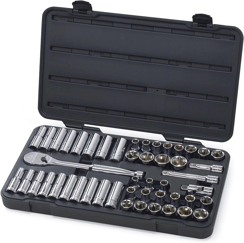 CRAFTSMAN HAND TOOLS 14pc LOT 1//2 Dr METRIC MM 6pt ratchet wrench socket set