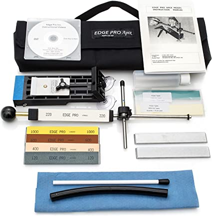8. Edge Pro Apex 4Kit Knife Sharpening System