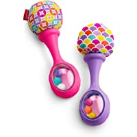 Fisher-Price Rattle 'n Rock Maracas, Pink/Purple