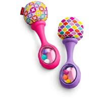 Fisher-Price Rattle 'n Rock Maracas, Pink/Purple [Amazon Exclusive]