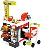 Smoby 350210–Supermarché avec chariot rouge/vert