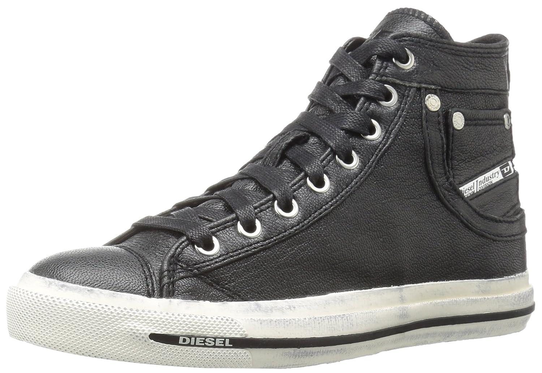 67f7657234 Amazon.com: Diesel Women's Magnete Exposure Iv W Fashion Sneaker, Black, 8  M US: Shoes