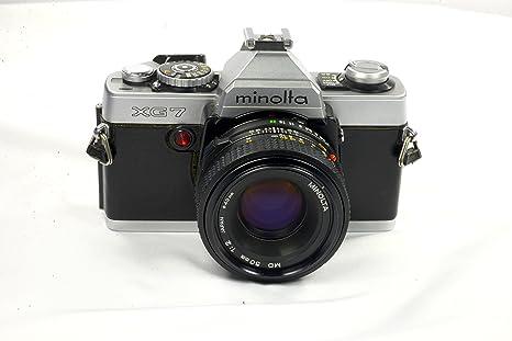 Minolta XG-7 35 mm cámara: Amazon.es: Electrónica