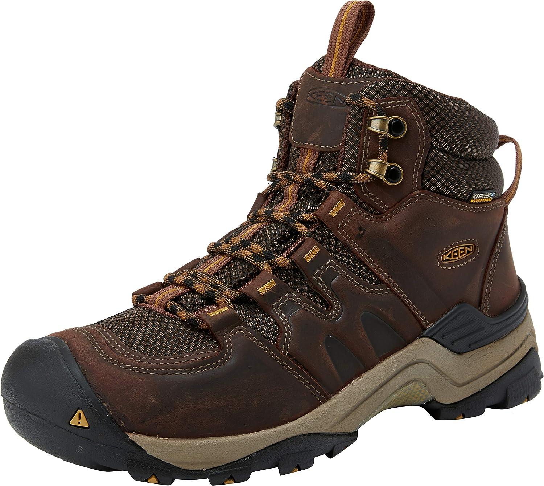Brand New Keen Gypsum Ii Mid Mens Waterproof Wide Fit Hiking Boots
