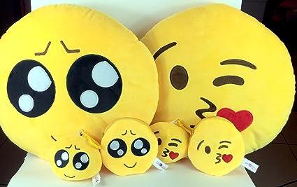 Emoji almohada libre llavero cadena & suave dinero Monedero ...
