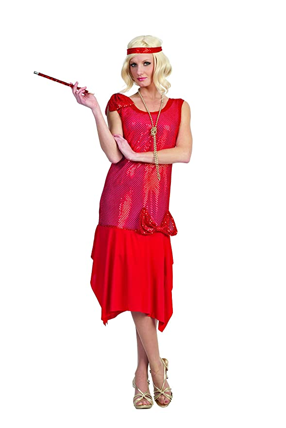 Roaring 20s Costumes- Flapper Costumes, Gangster Costumes  Rag Time Flapper $22.86 AT vintagedancer.com