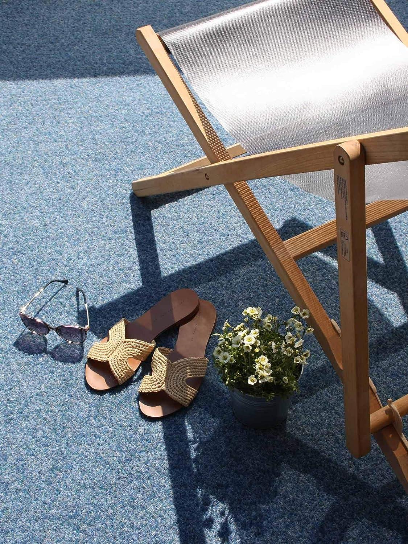 Moquette dext/érieur Tapis Gazon Artificiel GREEN avec Picots de Drainage etc Terrasse Balcon Jardin Bleu 1,33m x 10,00m Tapis Type Gazon Synth/étique au m/ètre