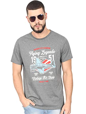 e8688353 THE UPMARKET STORE® Men's Tshirt | Flying Legends Graphic Printed ...