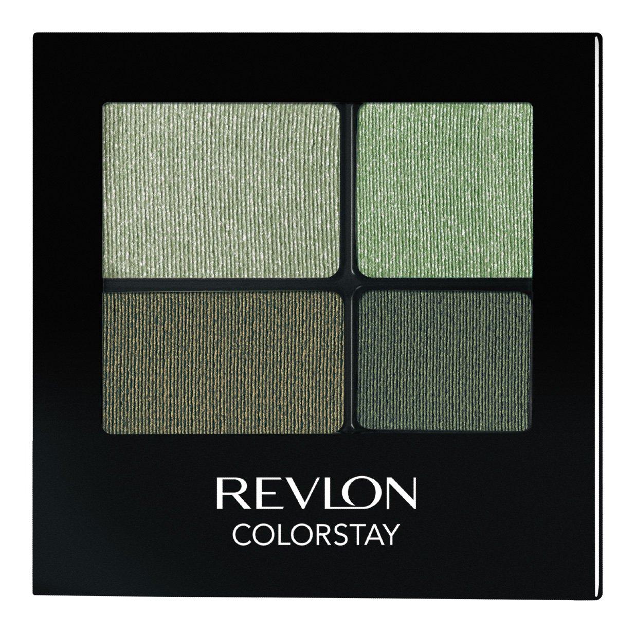 REVLON Colorstay 16 Hour Eye Shadow Quad, Luscious, 0.16 Ounce