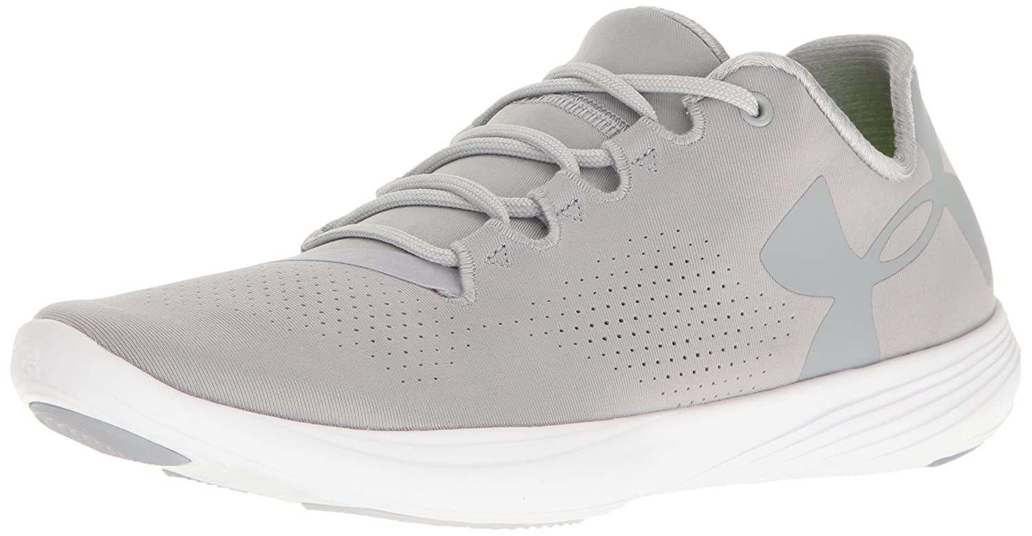 Under Armour Women's Street Precision Low Sneaker B0182YKP5K 11 M US|Overcast Gray (942)/Glacier Gray