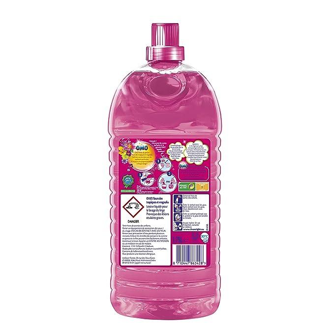 OMO - Suavizante para lavadora, 1,75 L, 25 lavados, aroma a ...
