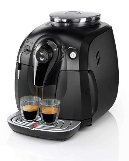 Amazon.com: Saeco HD8743/11 Xsmall steam schwarz ...