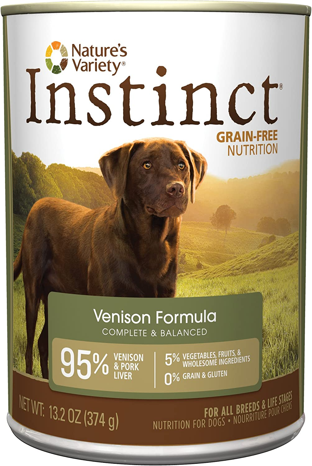 Nature's Variety Instinct Wet Canned Dog