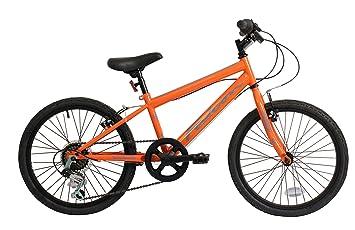 Falcon chico Jetstream rígida bicicleta de montaña - naranja/negro ...
