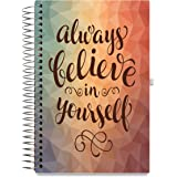 Tools4Wisdom Planners 2018 Planner - Full Color - Dated November 2017-2018 December Calendar Year - Daily Weekly Monthly Yearly Day Planner (Spiral Hardcover, Tabs, Pen Loop, 6 x 9)