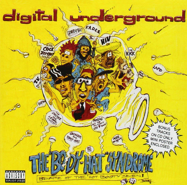 CD : Digital Underground - Body Hat Syndrome (CD)