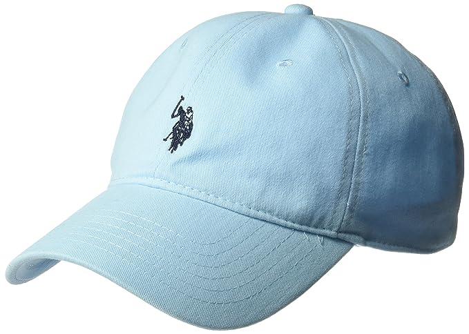 U.S. Polo Assn.. - Gorra de béisbol para Hombre de Sarga Lavada 4d06141ea57