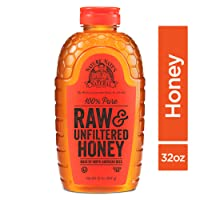 Nature Nate's 100% Pure, Raw & Unfiltered Honey; 32oz. Squeeze Bottle; Award-Winning...