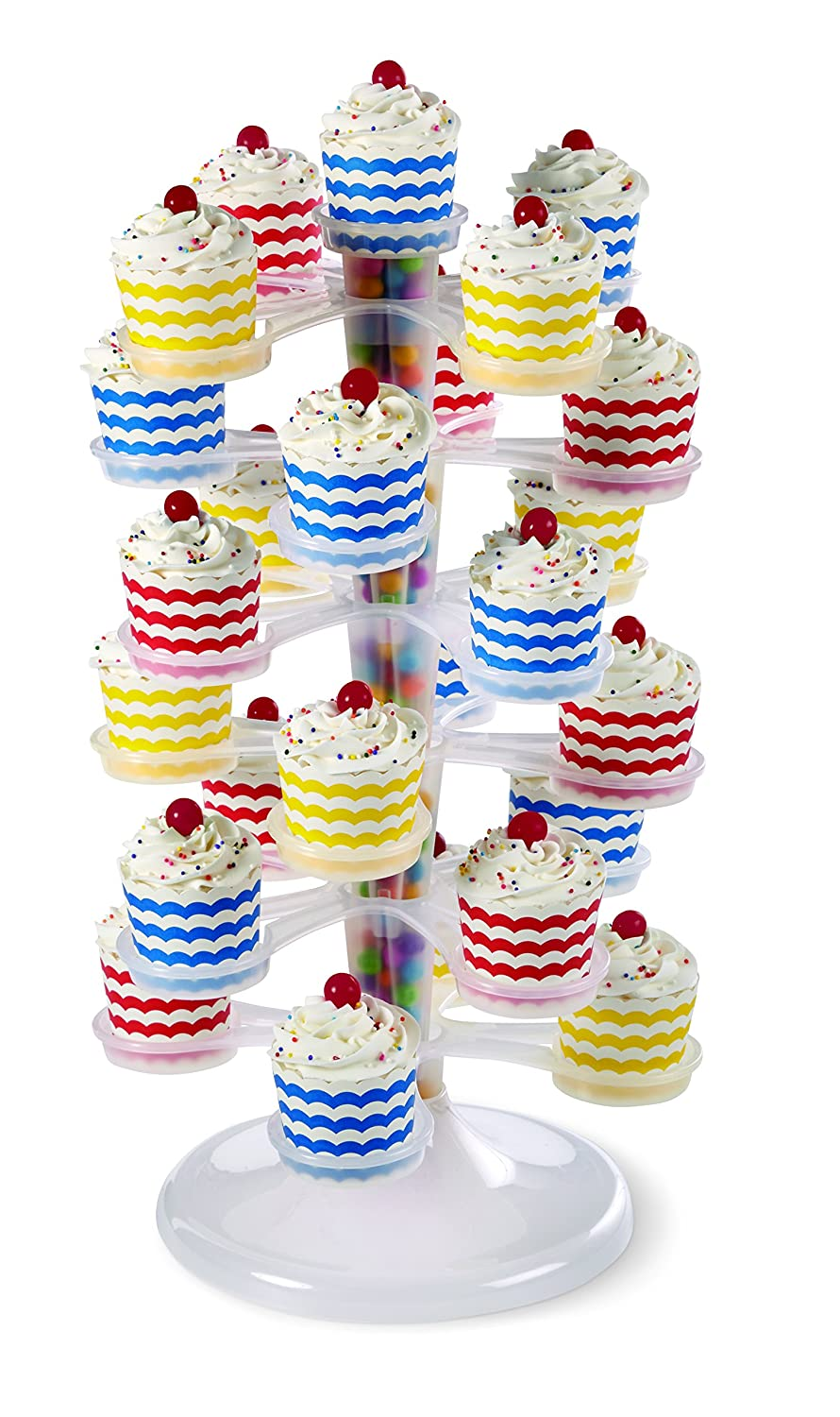 6 Tier 18.7in High 47.4 cm Wilton Cupcake and Dessert Stand//Tower Stand