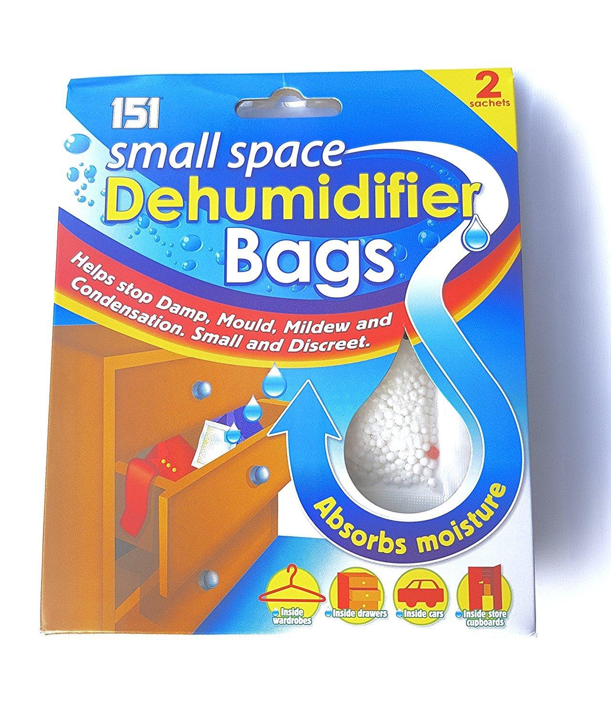 151 Dehumidifier Sachets, Multi-Colour, 10 x 10 x 10 cm DehumidSachetx6