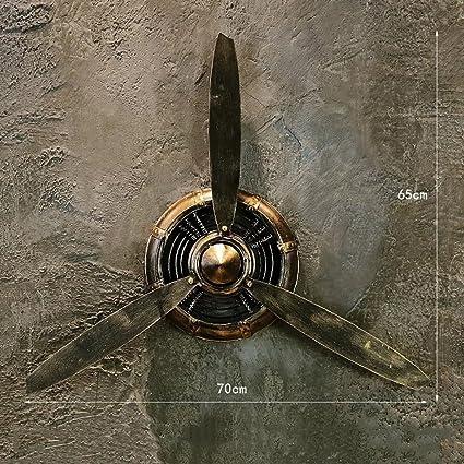 Qbds Loft Retro Industriel Vent Forge Helice Modele Decoration