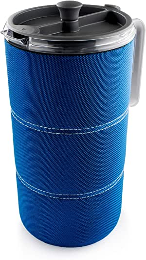 GSI Outdoors 50 fl. oz. JavaPress Lightweight, Insulated and Shatter-Resistant for French Press Coffee While Camping or The Office