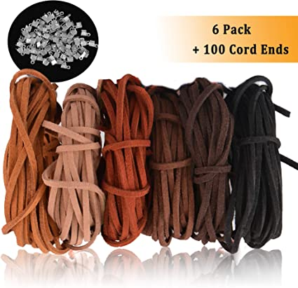 Lots 5M Real Round Leather Necklace Charms Rope String Cord DIY Jewelry Gift