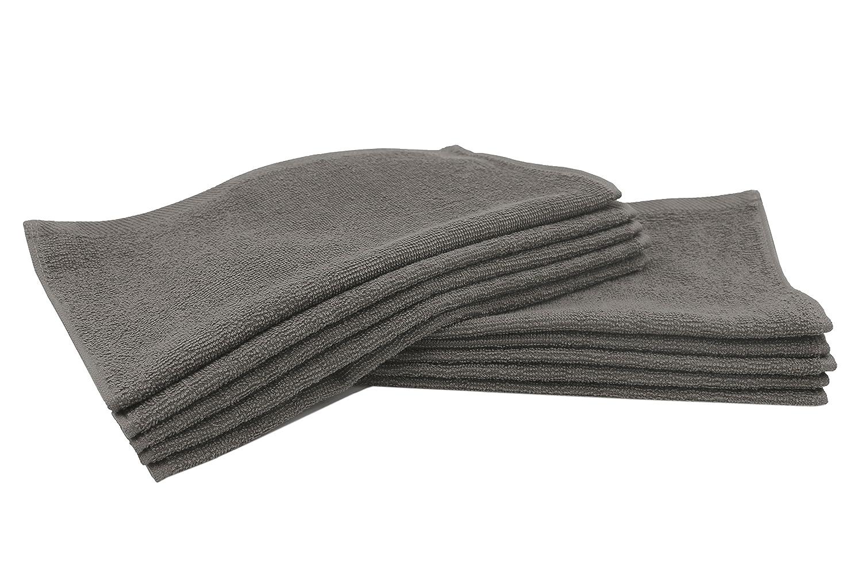 ZOLLNER® Set de 10 Toallas para la Cara/Toallas para Limpieza Facial,30x30 cm Color Amarillo,100% algodón, Disponible en Otros Colores, del especialista en Textiles para hostelería, Serie Elba II