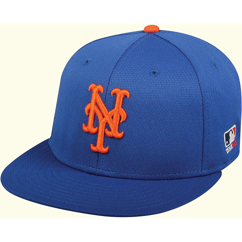san francisco 01169 bbc18 Amazon.com   Outdoor Cap New York Mets MLB OC Sports Q3 Flat Hat Cap Solid  Royal Blue NY Logo OSFM   Clothing
