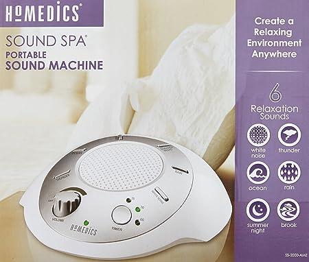 Amazon.com: HoMedics SS-2000G/F-AMZ Sound Spa Relaxation Machine ...