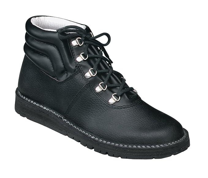 Majo - Botas de piel para hombre negro 41 EEMb8Uu