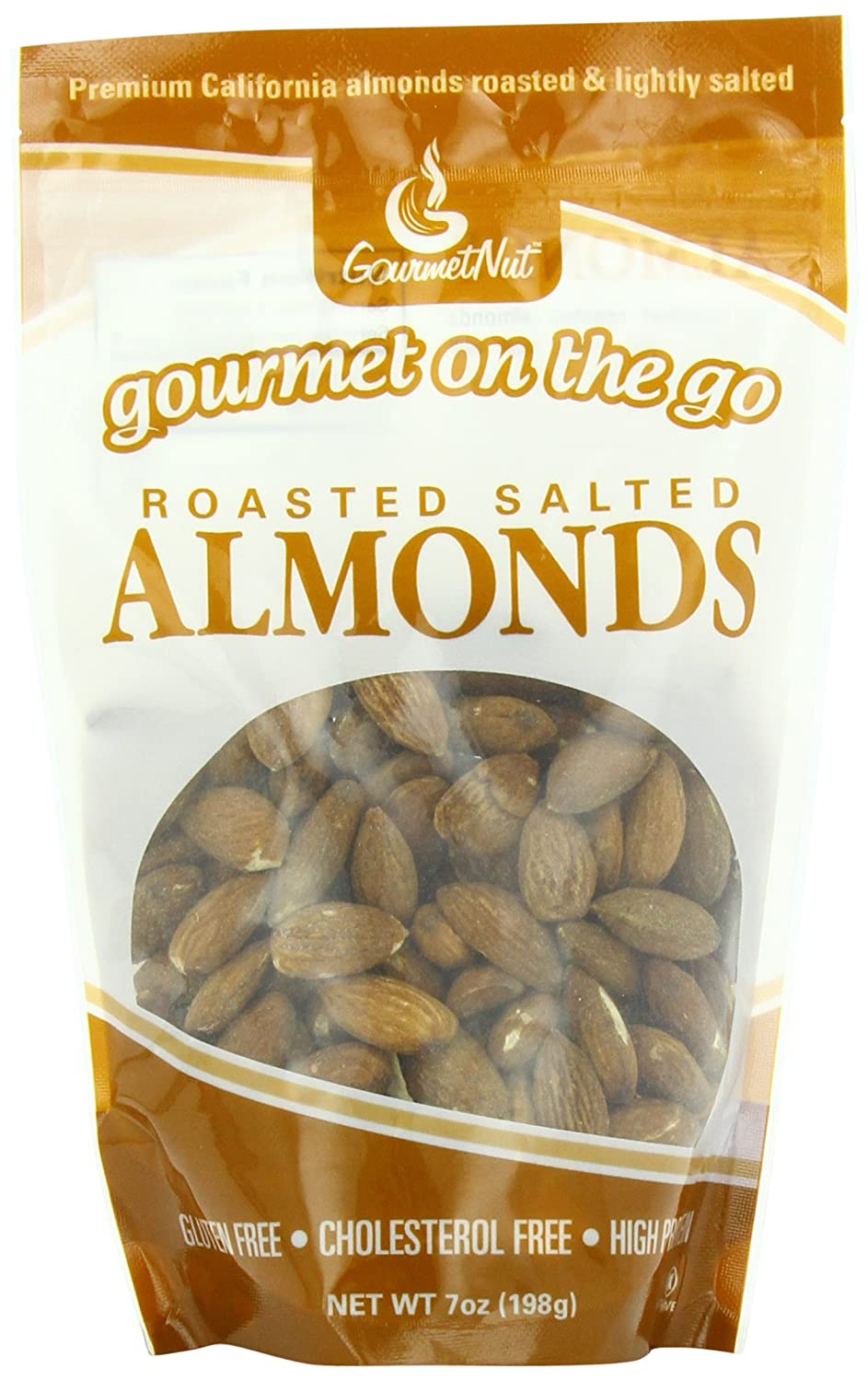 Amazon com : Gourmet Nut Snack Bag, Roasted Salted Almonds