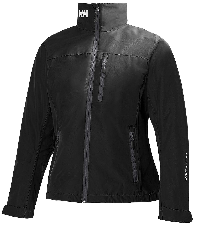 990 Black Helly Hansen Women's Crew Mid Layer Jacket