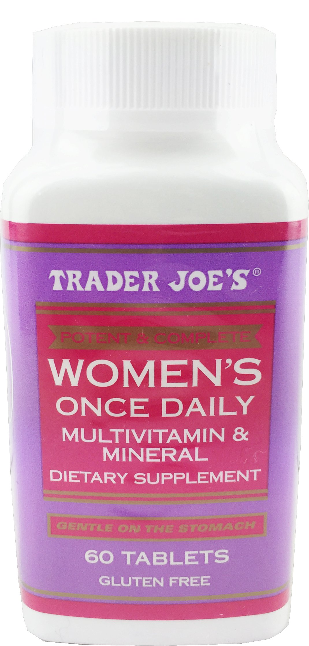 Amazon Com Trader Joe S Men S Once Daily Multivitamin