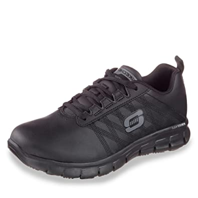 Skechers »Sure Track Erath« Arbeitsschuh, mit rutschhemmender Laufsohle, schwarz, EURO-Größen, schwarz